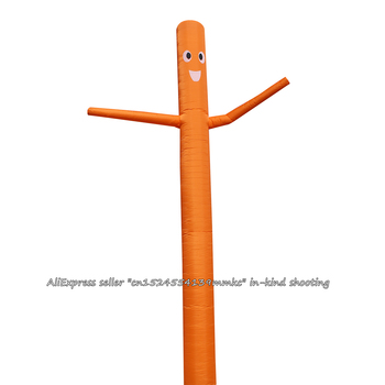 20ft/6m Classic Air Dancer Sky Dancer Inflatable Tube Cartoon  Air Puppet Out Door Dancing Man Giant Inflatable(Orange)