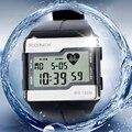 Moda Multifunción táctil Reloj Monitor de Ritmo Cardíaco, 100 M Impermeable Reloj de Los Hombres, buena Calidad Relojes Digitales
