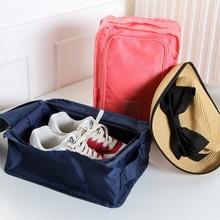 Free shipping BF050 Fashion Travel convenient shoe bag thickened storage  30.5*20.5*11.5cm