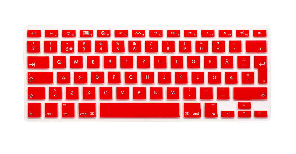 EU//UK//US Silicon Keyboard Cover Transparent Clear Protector Multi Language for MacBook Air Pro Retina 13 15 17inch-Korean US Vision