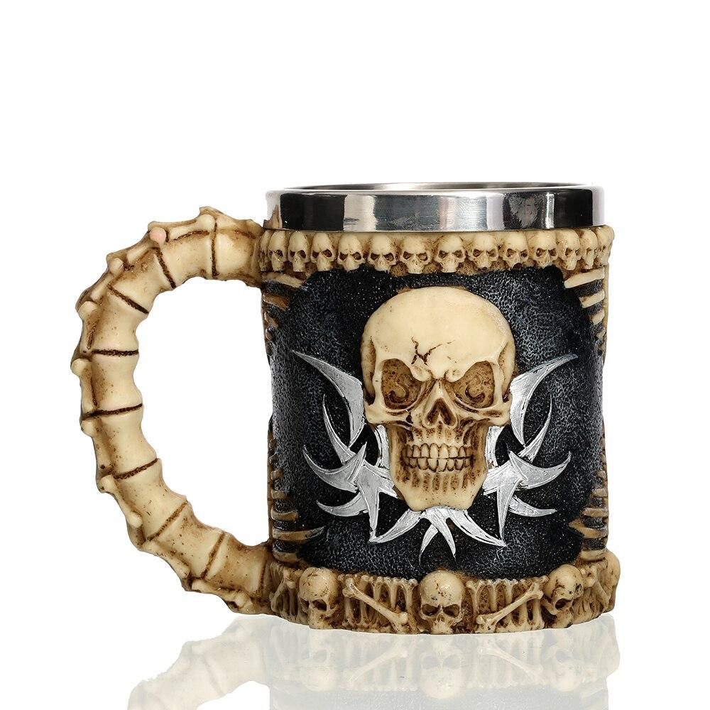 Knight Tankard Skull Mug  1