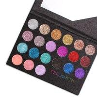 High Quality 21 Colors Glitter Diamond Eyeshadow Palette Glitter Lip Gloss Eyeshadow Powder Eye Shadow Makeup