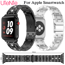 For Apple Watch 40mm 44mm 38mm 42mm Frontier/classic smart watch mosaic diamond strap for Apple Watch series 4 3 2 1 iWatch y shape silicone strap for apple watch 40mm 44mm 38mm 42mm frontier smart watch band for apple watch series 4 3 2 1 iwatch