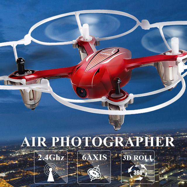 Syma X11C 4CH 2.4 GHz Mini Quadcopter con Cámara 2.0MP HD Micro Bolsillo Drone Quadrocopter Aviones RC Helicóptero Juguetes Para Niños Dron