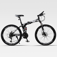 Mountain Bike Folding Spoked Wheel Double Damping Cross Country Speed Both Men and Women Adult
