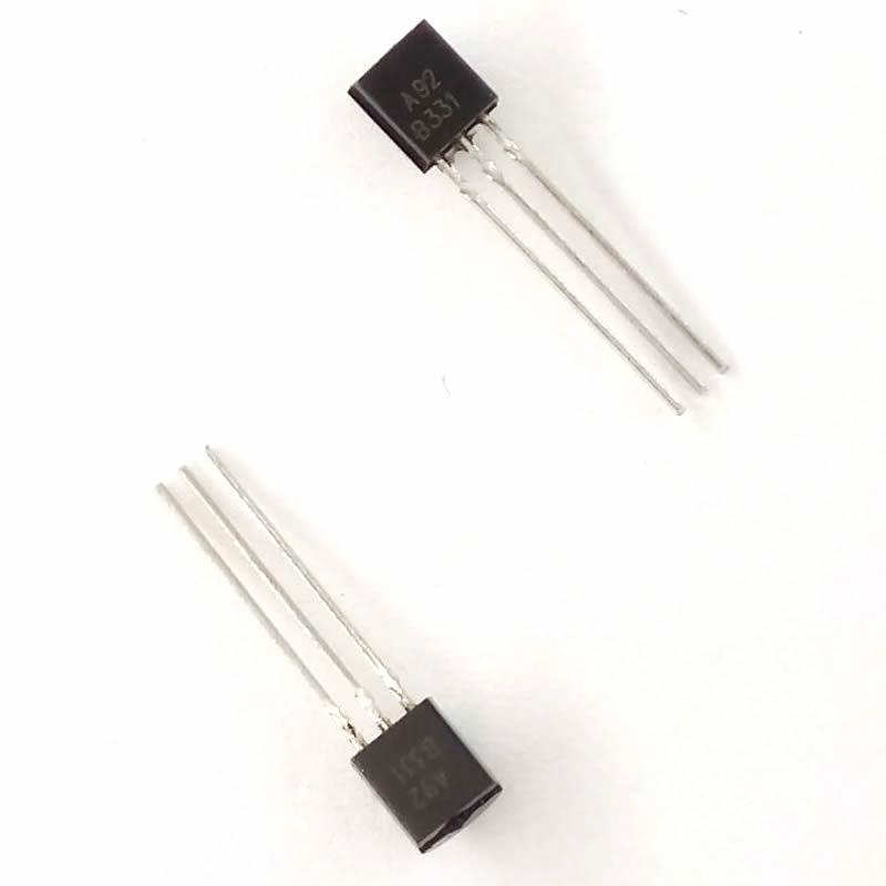 MCIGICM 5000pcs mpsa92 A92 in-line triode  transistor TO-92 0.5A 300V pnp Original new