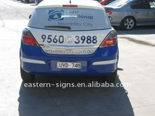 Car Window Wrap In Decals Stickers From Automobiles