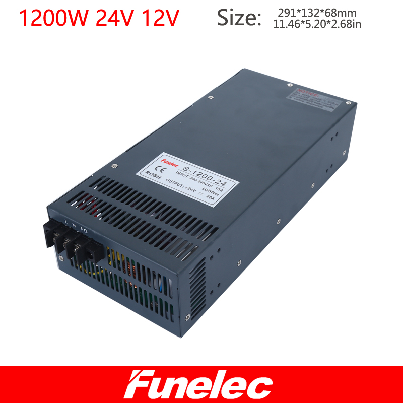 AC 110v 220v to DC 24V 50A 12V 100A AC to DC Switching Power Supply Industrial switching power supply SPS meanwell 12v 350w ul certificated nes series switching power supply 85 264v ac to 12v dc