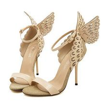 New Size 4~9 Butterfly High Heels Women Shoes 2016 Sexy Women Pumps zapatos mujer