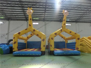 Дети жираф надувные тела вышибалы