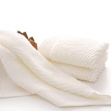 Высокое качество 100% Хлопок Твердый цвет банный полотенце для взрослых Мягкий супер абсорбирующий пляжный полотенце Быстрая сушка 35 * 78 см Полотенце для ванной