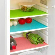 4 stk Fashion Køleskab Vandtæt Mats Anti Bakterier Antifouling Mildew Bevis Vandtæt Køleskab Pad Mat Til Køkken