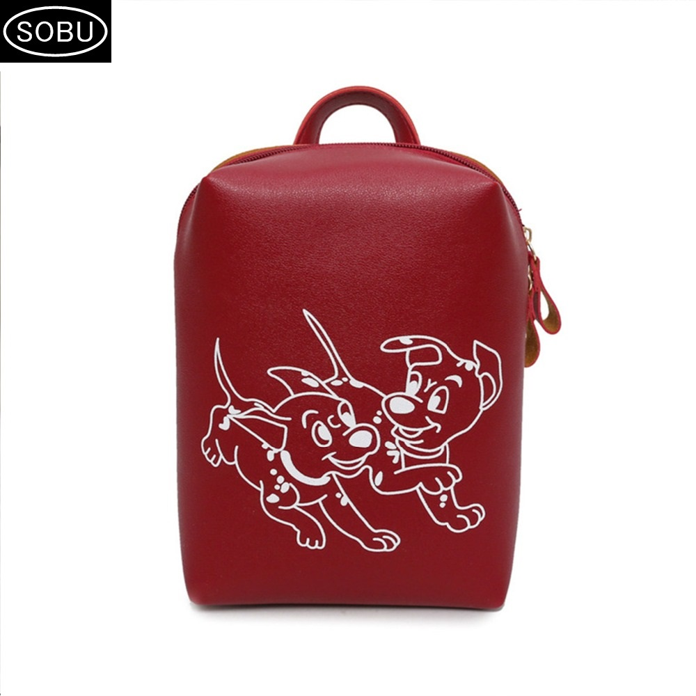 Fashion Women Backpack High Quality Youth PU soft leather small mini Backpacks for Teenage Girls Female School Shoulder Bag J106 mva fashion women backpack leather backpacks for teenage girls school shoulder bag small lady travel laptop backpacks female bag href page 2 page 3