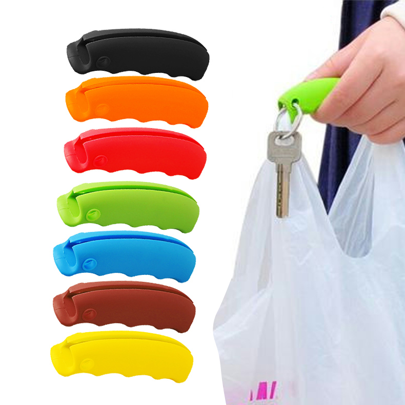 1pcs Durable Shopping Handle Carry Bag Helper Tool Hanging Relaxed Carry Food Machine