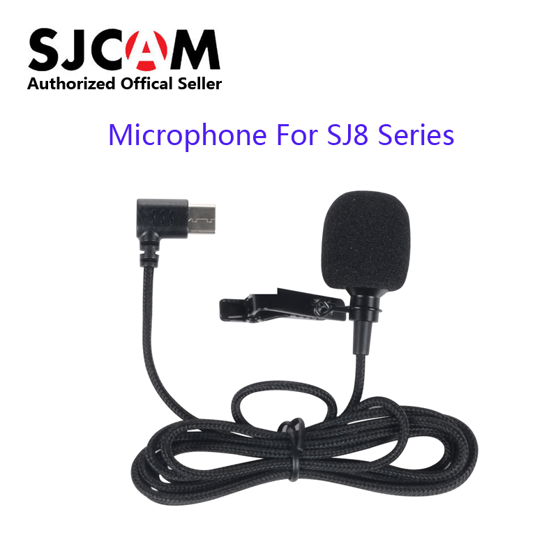 SJCAM SJ8 Series Accessories Type C External Microphone for SJ8 Air SJ8 Plus SJ8 Pro Sports Action Camera
