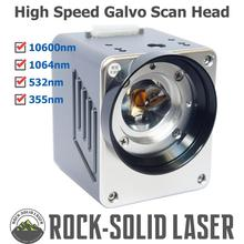 Волокно CO2 532nm 355nm уф лазер Galvo сканирующая головка Гальванометр сканер 1064nm лазерные запчасти для маркировочной машины оптом