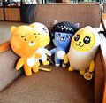 Cute 1pc 38cm South Korea kakao friends hold pillow doll RYAN doll gift card test fart peach king