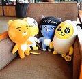 Lindo 1 unid 38 cm Corea Del Sur kakao amigos RYAN del asimiento de la muñeca regalo de la muñeca tarjeta de prueba pedo melocotón rey