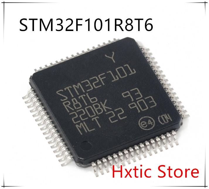 Free Shipping 10PCS/LOT  STM32F101R8T6 STM32F101 R8T6 QFP-64 IC