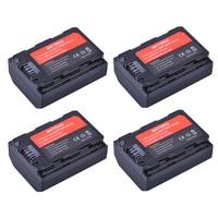 4Pcs 2280mAh NP FZ100 NP FZ100 Rechargeable Li ion Battery for Sony ILCE 9, A7M3, A7R3, A9 7RM3 Sony Alpha 9S A9R 9R DSLR Camera