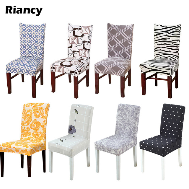 Dining Chair Covers In Store Office Hip Pain Aliexpress Com Buy 1pcs Striped Plaids Stretch Home Decor Cover Spandex Decoration Covering Banquet Hotel