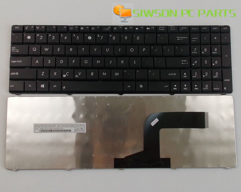 New Keyboard US Version For ASUS X52 X52F X52J X52JR X52D X52DE X52DR X52DY X52JB X52JC Laptop image