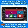 Ouchuangbo Car stereo DVD gps navigator radio para Suzuki Jimny 2006-2013 tela de toque apoio Espanhol BT MP3 AUX menu russo