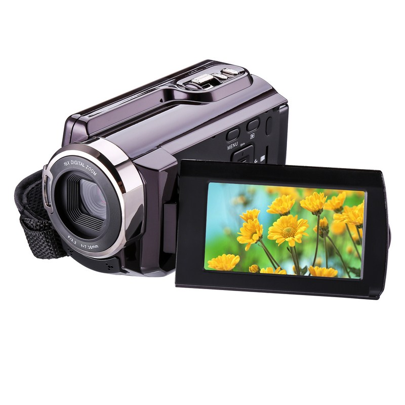 Full HD Wifi Video Camcorder DV DSLR Digital Camera IR Night Vision Infrared 3 Inch LCD Touch Screen Support Multi-languages