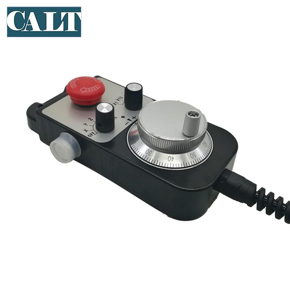 CALT TM1474 100BSL5 станок с ЧПУ ручное колесо MPG 100ppr линейный драйвер напряжение выход 25ppr 142*74 мм ручной импульсный генератор