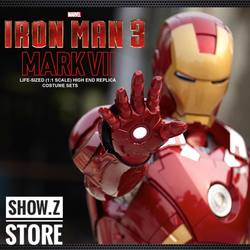 [Показать. Z магазин] killerbody 1:1 Железный человек MK7 носимых Armour законченный вариант носимых костюм Косплэй пользовательские