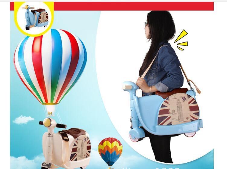 Passeio na mala para crianças equitação mala