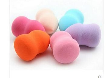 2019 Rushed 1pcs Fashion Women Gourd Shape Powder Puff Of Many Colors Beauty Make-up Sponge Tool Girl Makeup Tools Accessories 6
