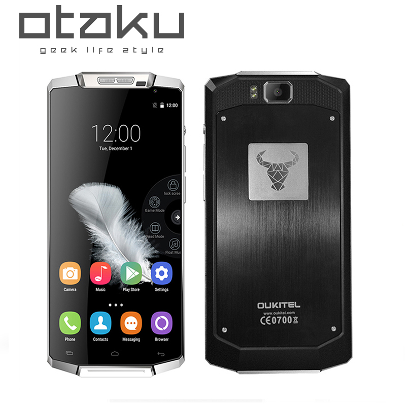 Original Oukitel K10000 MTK6735P 1 0GHz Quad Core 5 5 1280 720 Screen Android 5 1