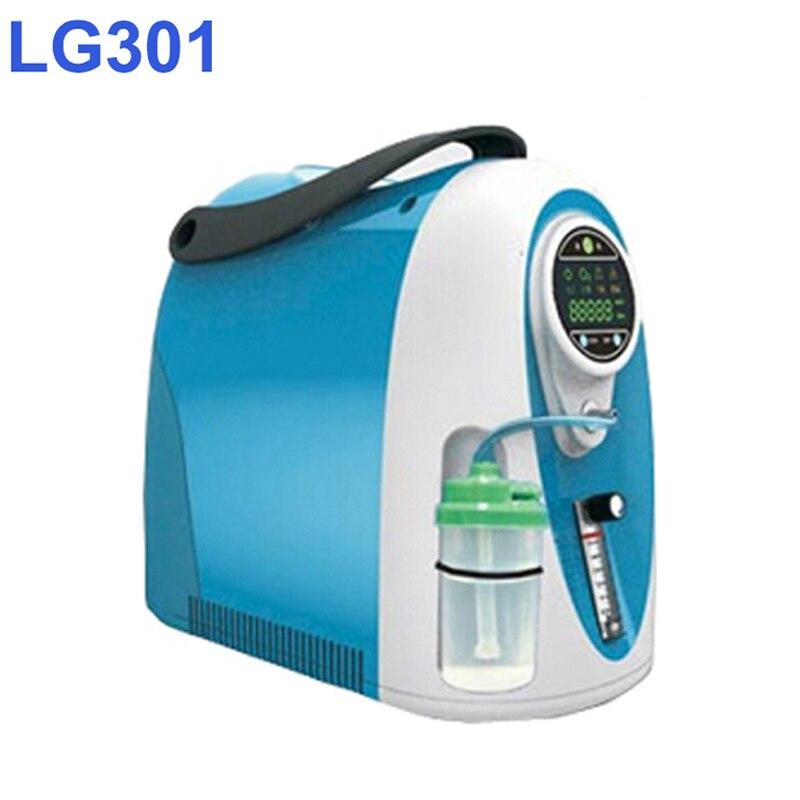 Użytku domowego 3 litry koncentrator tlenu Lovego LG301 o czystości tlenu 93%