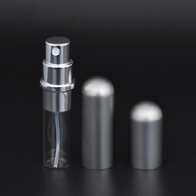 MUB – 5ml Refillable Portable Mini Perfume Bottle &Travel Aluminum Empty Spray Atomizer Cosmetic Bottle Empty Parfum Bottle