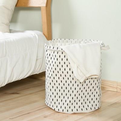 Home wäschekorb gefaltet baumwolle wasserdicht wäschekorb spielzeug - Home Storage und Organisation