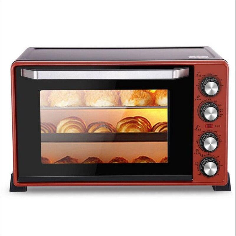 Four électrique multifonction de 45L 2000 W faisant des biscuits de Pizza de pain pour le ménage Commercial