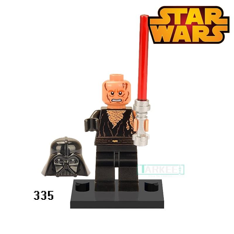 Building Blocks Anakin Skywalker Figures XH335 Star Wars Darth Vader Super Heroes Set Model Action Bricks Kids DIY Toys Hobbies бра colosseo 81625 1w nestore