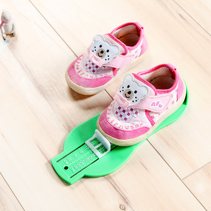 Kids Foot Measure Tool Shoes Helper Shoes Size Calculator Children Infant Feet Measuring Ruler Tool Baby Shoes Gauge Device