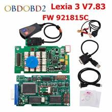 FW 921815C Lexia3 PP2000 V7.83 OBD2 инструмент диагностики Lexia 3 Diagbox 7.83 на нескольких языках для Peugeot и Citroen DHL Бесплатная