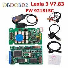 FW 921815C Lexia3 PP2000 V7 83 OBD2 font b Diagnostic b font font b Tool b