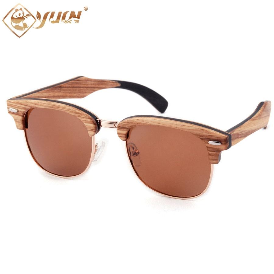 904285b30d065 Sasle quente Skate Moldura De Madeira Óculos De Sol Das Mulheres Dos Homens  Clássico Marca Designer Óculos de Sol Eyewear
