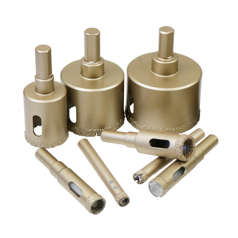 6mm 8mm 10mm 12mm 14mm Carbide Diamond Coated Brazing Marble Granite Ceramic Porcelain Tile Glass Cutter Core Drill Bit Hole Saw pro quality 10piece diamond core drill bit hole saw set power tools for glass marble tile ceramic 6 30mm carpenter artisan tools
