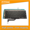"""3Pcs/lot Original Brand New US Keyboard For Macbook Pro Retina 15.4"""" A1398 Keyboard with backlight 2012 Year"""