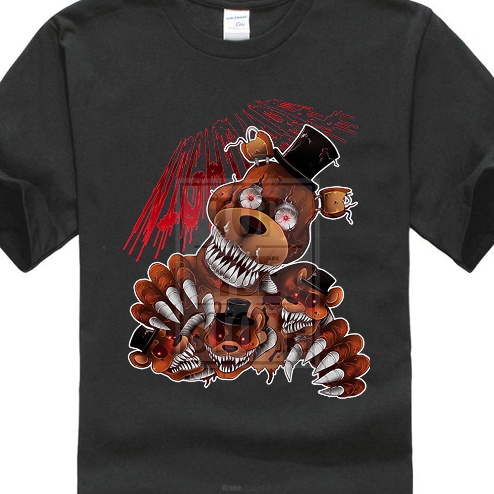 PERSONALIZED FIVE NIGHTS AT FREDDY`S T SHIRT PARTY FAVOR FNAF BIRTHDAY GIFT