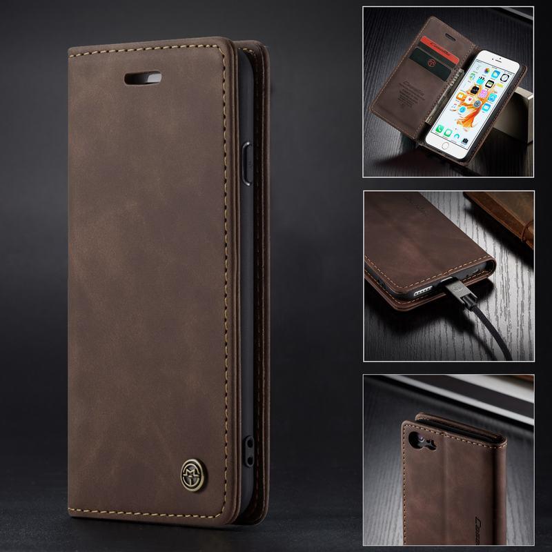 Флип-чехол для iPhone 6 s 6 s 7 8 Plus, чехол для iPhone XS Max XR, кожаный чехол-бумажник для iPhone 5 SE X 10, Роскошный чехол для телефона