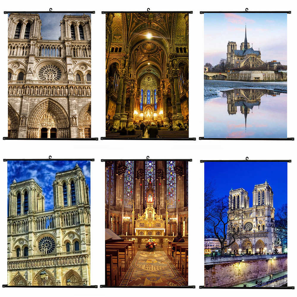 Frame Notre Dame De Paris DIY Painting By Numbers Wall Art Picture Canvas Painting for Home Decoration for Room Drop Shipping