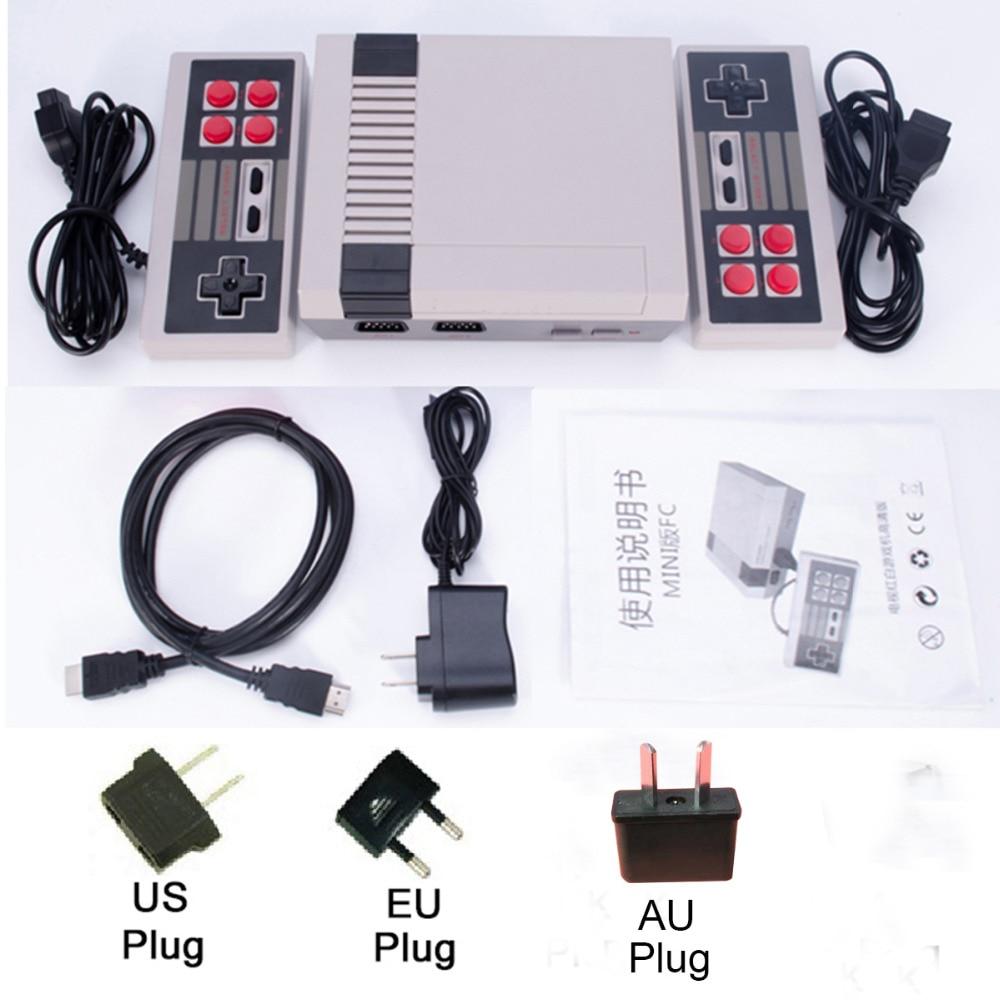 Portable Spielkonsolen Videospiele Hdmi/av Out Retro Video Spiel Konsole Eingebaute 620/600 Spiele 8 Bit Pal & Ntsc Familie Tv Handheld Spiel Player Doppel Gamepads