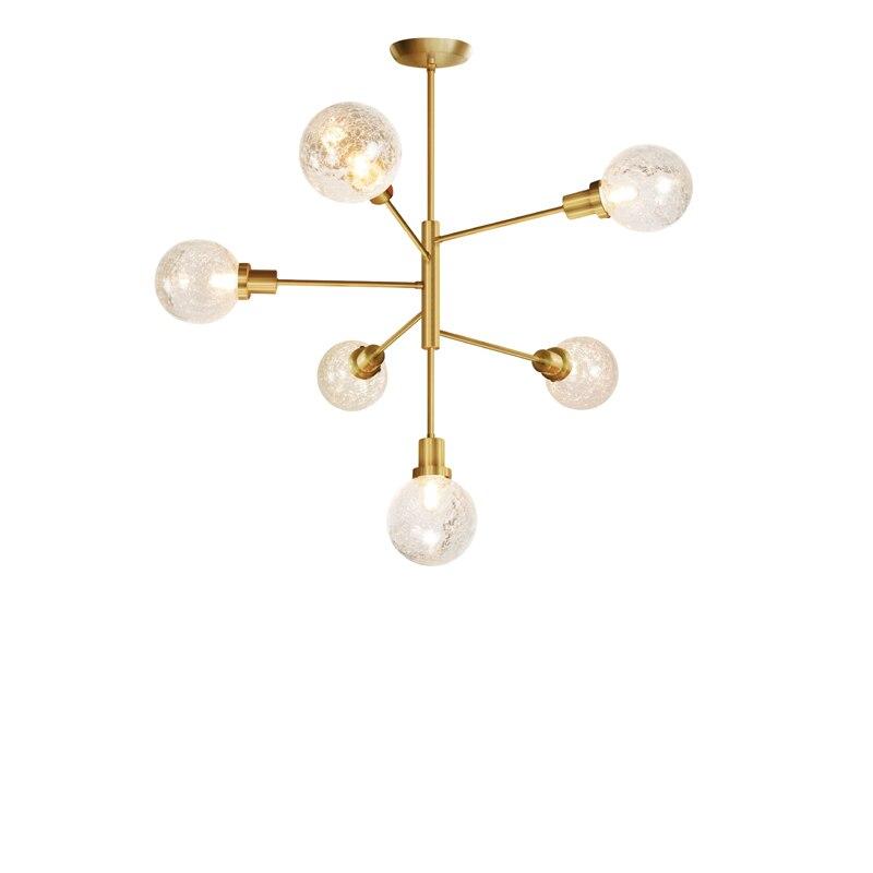 Jason magic bean foyer vivant adn doré suspension suspension lampe poste de lumière moderne LED or rond boule de verre suspension lampe