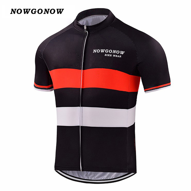 489182064bdad4 Man 2018 cycling jersey clothing bike wear team red black tops pro rider  bicycle outdoor sport NOWGONOW custom cool china
